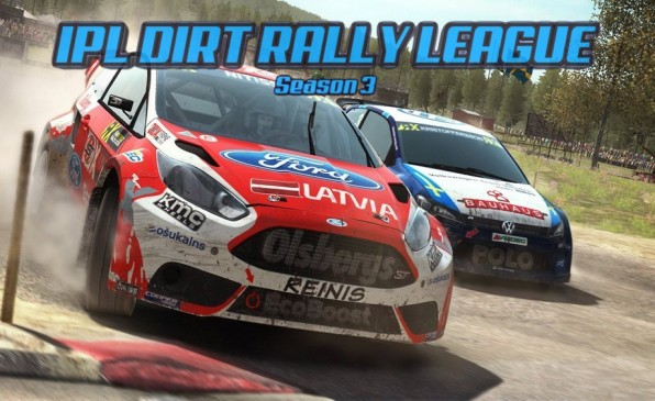 3 Sezon ligi IPL Dirt Rally